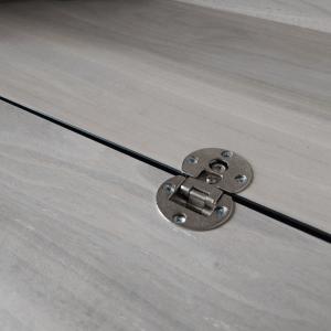 bisagras planas para muebles